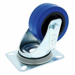 Blue Wheel Without Brake 80mm Millenium