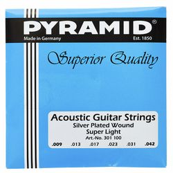 Acoustic Silver Set Pyramid