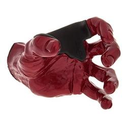 Red Metallic Male Hand left Guitar Grip