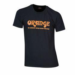 T-Shirt Logo L Orange