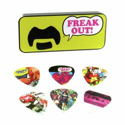 Frank Zappa Yellow Pick Set M Dunlop