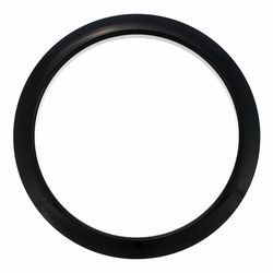 "5"" Black round HBL5 Bass Drum O's"