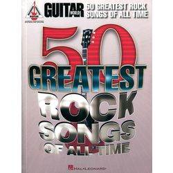 Guitar 50 Greatest Rock Songs Hal Leonard