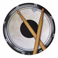 Mouse Pad Drum Head And Sticks AIM Gifts
