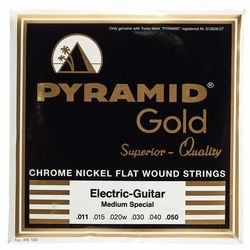 Gold Flatwound 011-050 Pyramid