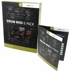 Drum Midi 6 Pack Toontrack