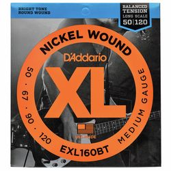EXL160BT Balanced Tension Daddario
