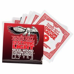 12-string Light Nickel Wound Ernie Ball