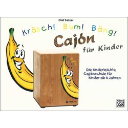 Kräsch! Bum! Bäng! Cajon Kids Alfred Music Publishing