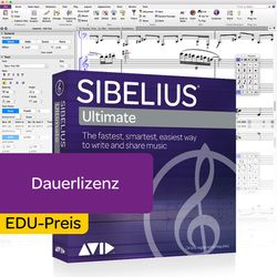 Sibelius Ultimate Academic Avid