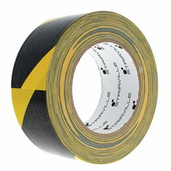Cloth Warning Tape B/Y Stairville