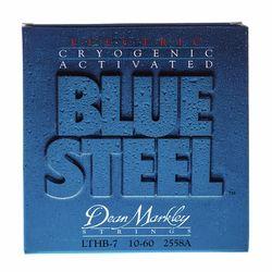2558A Blue Steel Elec. 7 LTHB Dean Markley