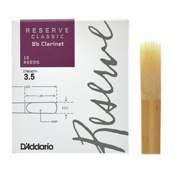 Reserve Clarinet Classic 3,5 DAddario Woodwinds