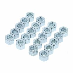 5666 Hex-Nut M6 Pack Adam Hall