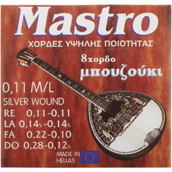 Bouzouki 8 Strings 011 SP Mastro