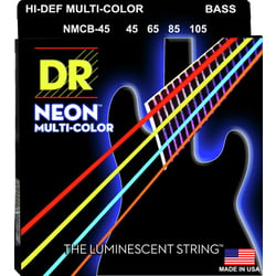 Neon HiDef Multi-Color Bass 4 DR Strings