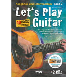 Let's Play Guitar 2 Hage Musikverlag