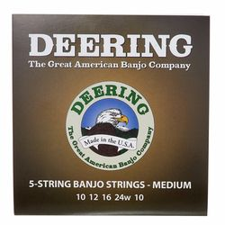 5 String Banjo Medium Set Deering