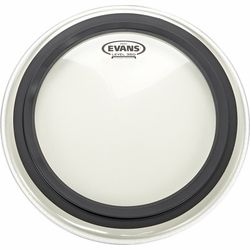 "16"" EMAD Clear Bass Drum Evans"