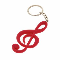 Keyring Treble Clef R Gummy A-Gift-Republic