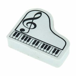 Eraser Piano G-Clef White A-Gift-Republic
