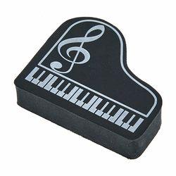 Eraser Piano G-Clef Black A-Gift-Republic