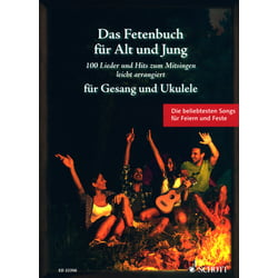 Fetenbuch Gesang/Ukulele Schott
