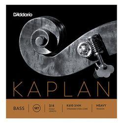 K610-3/4H Kaplan Bass 3/4 Daddario