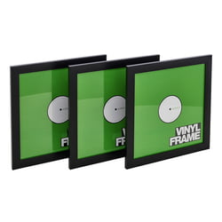 "12"" Vinyl Frame Set Black Glorious"