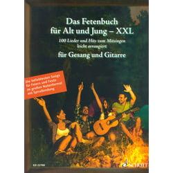 Fetenbuch Gesang/Gitarre XXL Schott