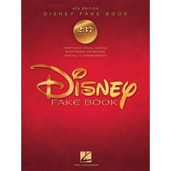Disney Fake Book 4th Edition Hal Leonard