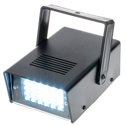 LED Disco Strobe white Sound Eurolite