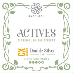 Double Silver Carbon 400ADC Knobloch Strings