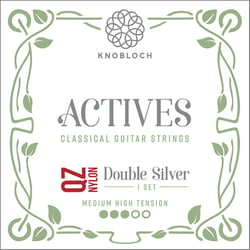 Double Silver Nylon QZ 400ADQ Knobloch Strings