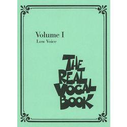 Real Vocal Book (Low) Vol.1 Hal Leonard