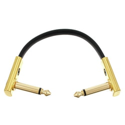 Flat Patch Cable Gold 10 cm Rockboard
