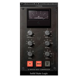 SSL G-Master Buss Compressor Waves