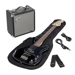 SQ Affinity PJ Bass Pack BLK Fender