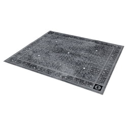 Drum Rug Oriental Anthracite Thomann