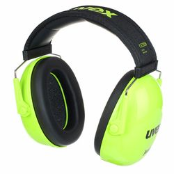 K Junior Ear Protector lime UVEX
