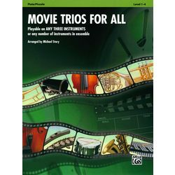 Movie Trios For All Flute Alfred Music Publishing