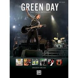 Green Day Anthology Piano Alfred Music Publishing