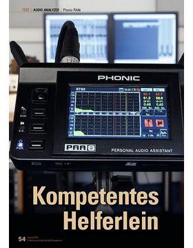 Kompetentes Helferlein Phonic PAA6