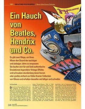 Ein Hauch von Beatles, Hendrix und Co.: Waves Eddie Kramer Collection