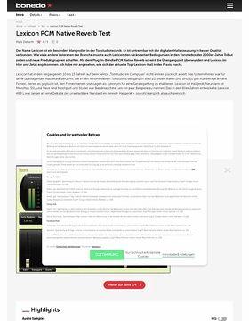 Lexicon PCM Bundle Native