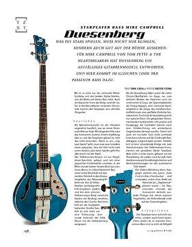 Duesenberg Starplayer Bass Mike Campbell, E-Bass