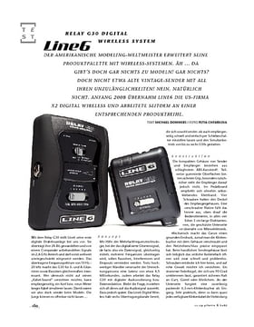 Line6 Relay G30 Digital Wireless System