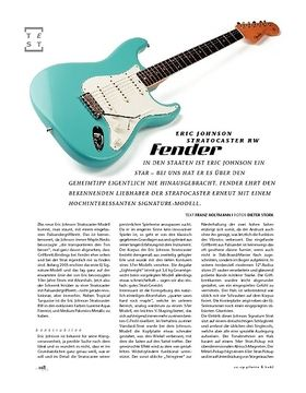 Fender Eric Johnson Stratocaster RW