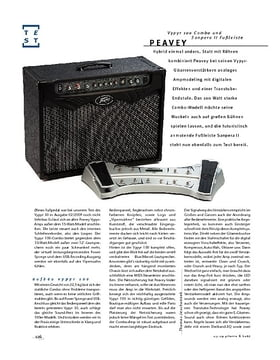 """Peavey Vypyr 100 & Sanpera II; Modeling-Combo"""