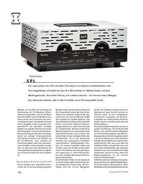 SPL Cabulator, Load-Box & Speaker-Simulator